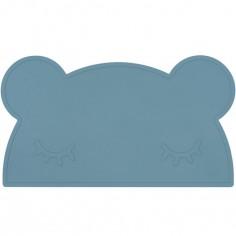 Set de table ours bleu
