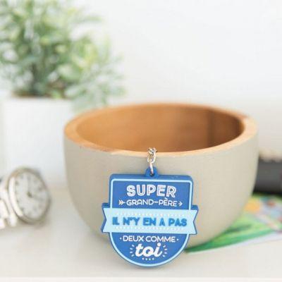 Porte-clés Super grand-père  par Mr. Wonderful