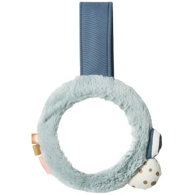 Miroir à suspendre bleu avec aimant  par Done by Deer