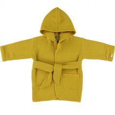 Peignoir Bliss jaune moutarde (1-2 ans)