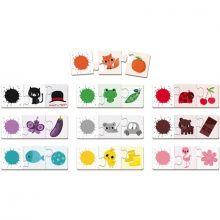 Lot de puzzles Triocolor (3 pièces)  par Janod