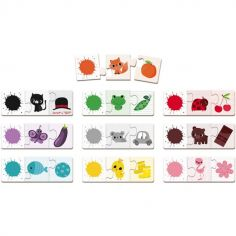 Lot de puzzles Triocolor (3 pièces)
