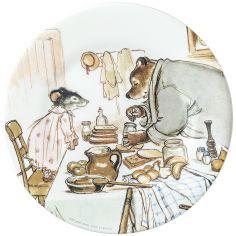 Assiette Ernest et Célestine cuisinent