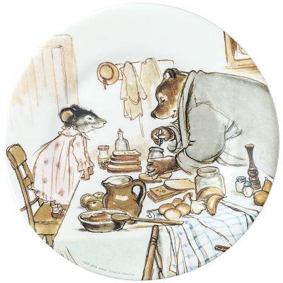 Assiette Ernest et Célestine cuisinent  par Petit Jour Paris