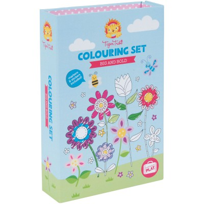 Kit de coloriage Fille Big and bold