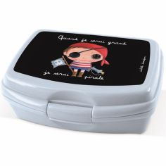 Lunch box Je serai pirate