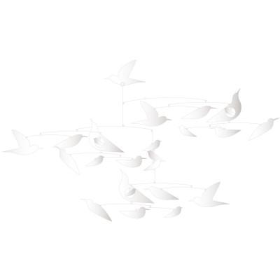 Mobile Des oiseaux blancs  par Little big room by Djeco