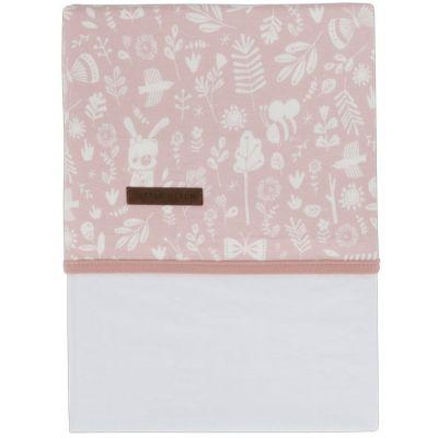 Drap de lit bébé Adventure pink (110 x 140 cm)  par Little Dutch