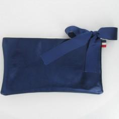 Pochette Ballet bleu marine