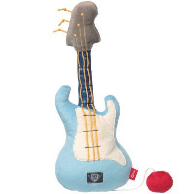 Peluche vibrante guitare Papa & Me (36 cm)  par Sigikid