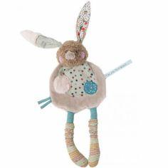 Doudou plat lapin Les jolis trop beaux (31 cm)