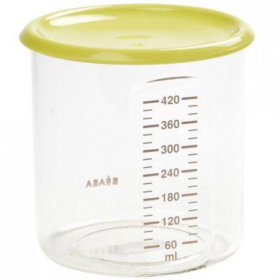 Pot de conservation Maxi+ portion néon (420 ml)  par Béaba