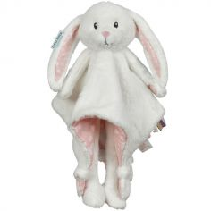 Peluche doudou lapin Adventure pink (33 cm)