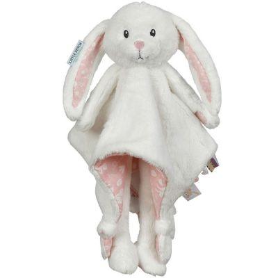 Peluche doudou lapin Adventure pink (33 cm)  par Little Dutch