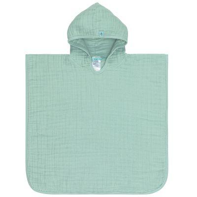 Poncho de bain en mousseline vert menthe (12-36 mois)  par Lässig