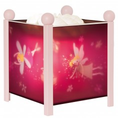 Lanterne magique Princesse rose