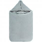 Nid d'ange gris silver Tricoloudoux The Sublime (75 cm) - Noukie's