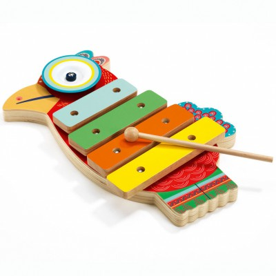 Cymbale et xylophone Animambo  par Djeco