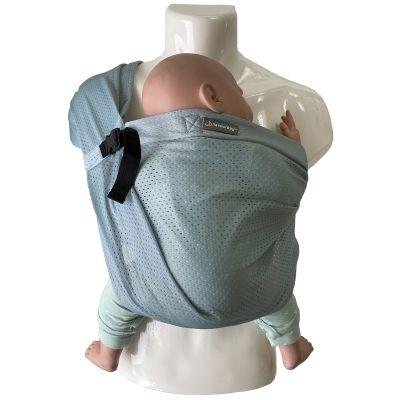 Porté bébé Mini Sling vert  par Minimonkey