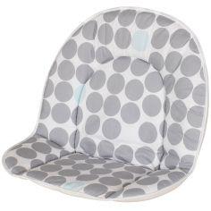 Coussin de chaise haute tissu Pois (26 x 40 cm)