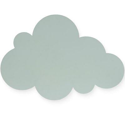Applique murale nuage vert  par Jollein