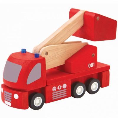 Camion de pompiers Plan Toys