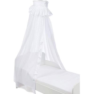 Ciel de lit blanc Pur  par Nougatine