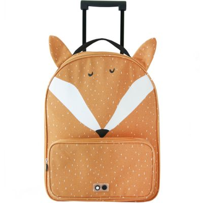 Valise trolley renard Mr. Fox  par Trixie