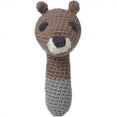 Hochet Sarah écureuil (12 cm)