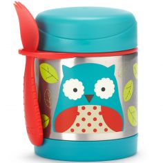 Thermos alimentaire Zoo hibou bleu (325 ml)