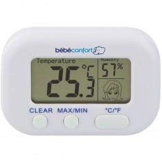 Thermom tre hygrom tre de chambre - Thermometre hygrometre chambre bebe ...