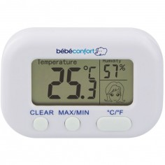 Thermomètre hygromètre de chambre