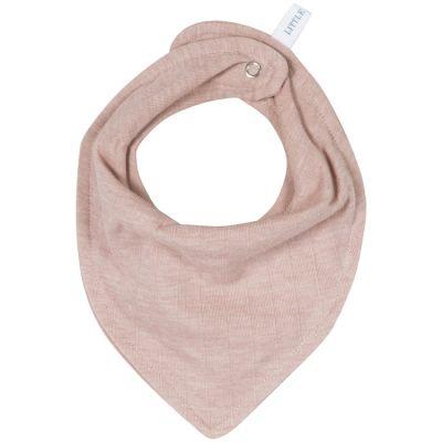 Bavoir bandana Pure pink  par Little Dutch