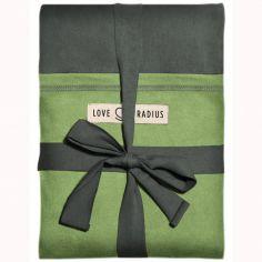 Echarpe de portage L'Originale gris vert poche pistache