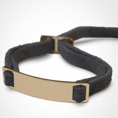 Bracelet 'Skin' (or jaune 750°)  par Mikado