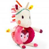 Hochet à poignées Louise la licorne - Lilliputiens