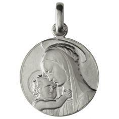 Médaille Vierge de Botticelli (argent 950°)