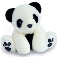 Peluche panda So Chic blanc (17 cm)