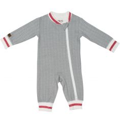 Pyjama chaud Cottage gris (Naissance)