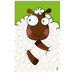 Tableau mouton (14 x 22 cm)