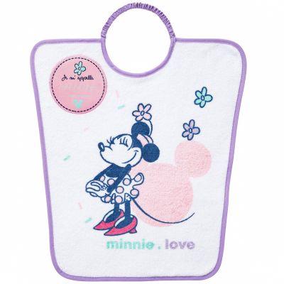 Bavoir passe-tête Minnie Love  par Babycalin