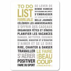 Carte To Do List (15 x 21 cm)