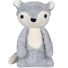 Peluche Mikkel renard gris (32 cm)