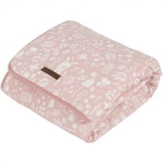 Couverture de lit pure & soft Adventure pink (110 x 140 cm)
