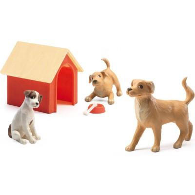 Figurines Les chiens  par Djeco