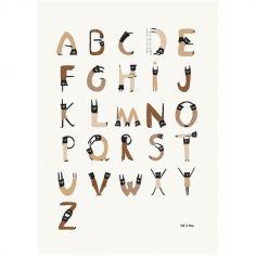 Affiche ABC Acrobates (30 x 42 cm)
