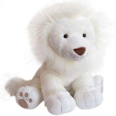 Peluche géante Lion des neiges (65 cm)
