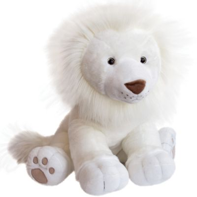 Peluche géante Lion des neiges (65 cm)  par Histoire d'Ours