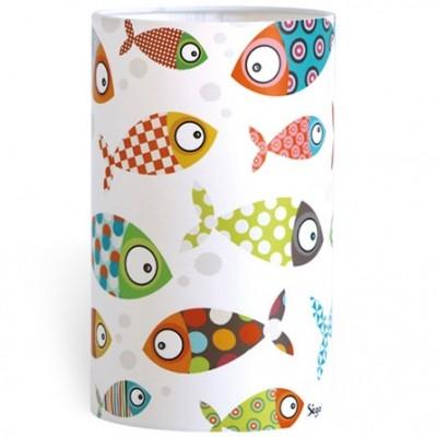 Lampe à poser poissons  par Série-Golo