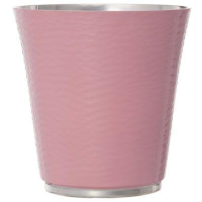Timbale rose dragée personnalisable (métal argenté et émail)  par Daniel Crégut